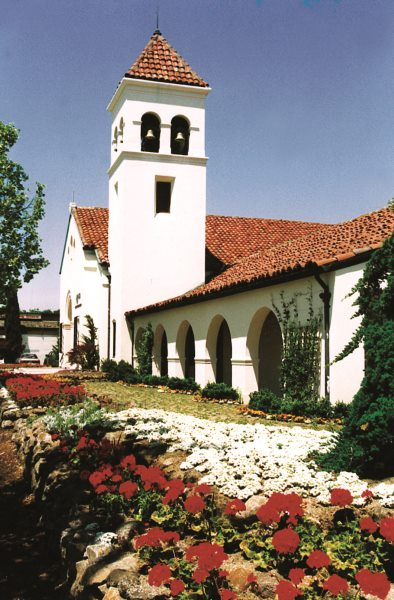Ananda Church in Palo Alto